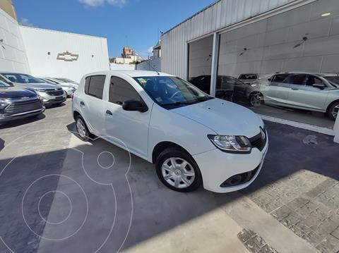 Renault Sandero 1.6 Expression Pack usado (2018) color Blanco Glaciar financiado en cuotas(anticipo $569.800)