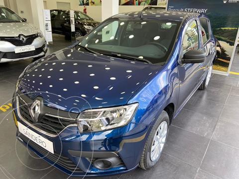 Renault Sandero 1.6 Life nuevo color Azul Acero financiado en cuotas(anticipo $485.000 cuotas desde $16.573)