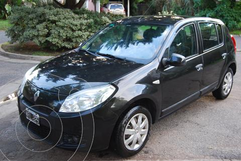 Renault Sandero 1.6 Confort usado (2011) color Negro precio $590.000