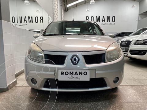 Renault Sandero 1.6 Luxe usado (2008) color Gris Iceberg precio $580.000