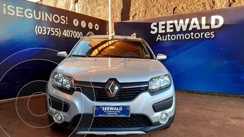 Renault Sandero Stepway Ii 1.6 Dynamique usado (2017) color Gris precio $1.450.000