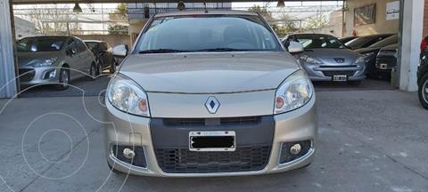 Renault Sandero 1.6 Luxe usado (2011) color Blanco Glaciar precio $750.000
