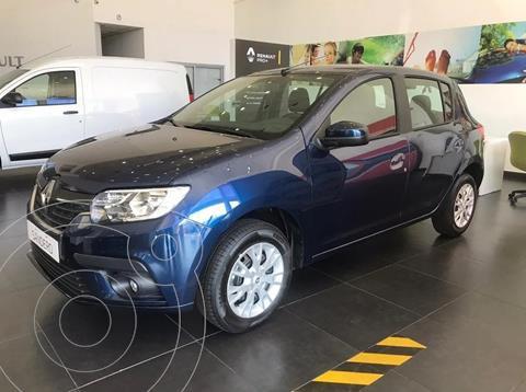 Renault Sandero 1.6 Life nuevo color Azul Acero financiado en cuotas(anticipo $300.000 cuotas desde $18.373)