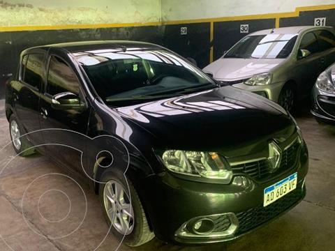 Renault Sandero 1.6 Privilege Pack usado (2019) color Negro precio $1.870.000