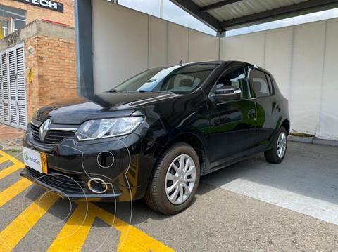 Renault Sandero 1.6 Expression Mec 5P usado (2018) color Negro precio $34.990.000