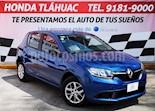 Foto venta Auto usado Renault Sandero Expression Aut (2017) color Azul precio $140,000