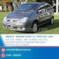 Foto venta Auto usado Renault Scenic RXE 2.0 ABS ABG (2006) color Gris Oscuro precio $218.000
