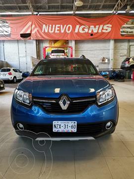 Renault Stepway Zen usado (2018) color Azul precio $180,000
