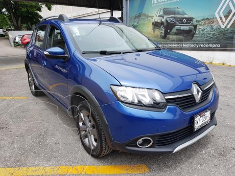 Renault Stepway 5 pts. HB Stepway Intens, 1.6l, TM5, a/ac. Aut,  usado (2019) color Azul precio $215,000