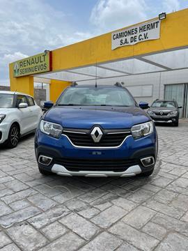 Renault Stepway 5 pts. HB Stepway Intens, 1.6l, TM5, a/ac. Aut, V usado (2020) color Azul precio $270,000