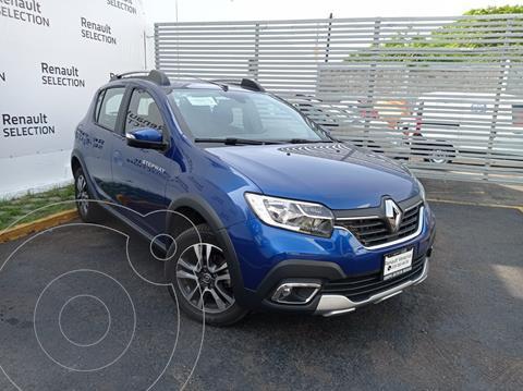Renault Stepway Intens Aut  usado (2021) color Azul precio $299,000