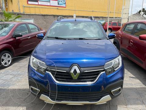Renault Stepway 5 pts. HB Stepway Intens, 1.6l, TM5, a/ac. Aut, V usado (2020) color Azul Marino precio $270,000
