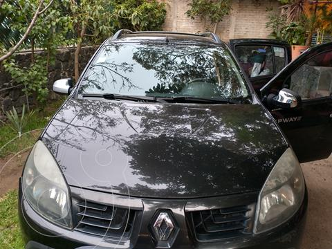 Renault Stepway Dynamique usado (2011) color Negro precio $75,000