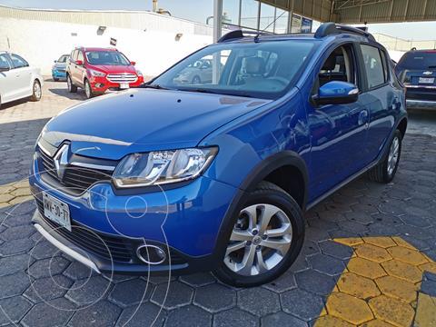 Renault Stepway Expression usado (2017) color Azul precio $160,000