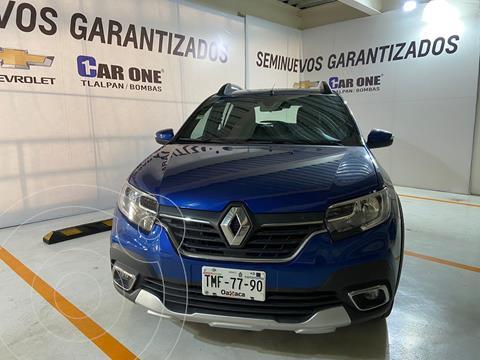Renault Stepway Intens Aut usado (2021) color Azul precio $284,900