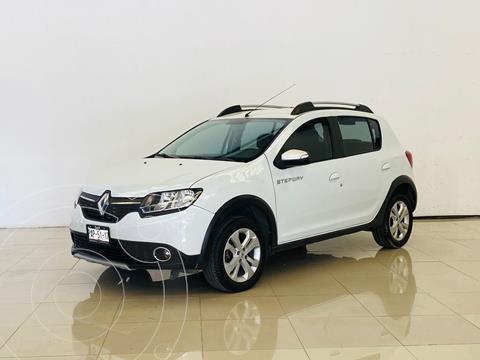 Renault Stepway Intens usado (2018) color Blanco financiado en mensualidades(enganche $41,000 mensualidades desde $5,500)