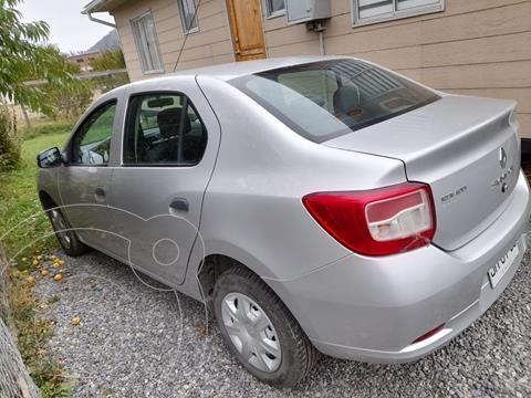 Renault Symbol 1.6 Expression usado (2017) color Plata precio $6.550.000