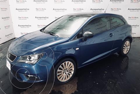 SEAT Ibiza Coupe Connect 1.6L usado (2016) color Azul Apolo financiado en mensualidades(enganche $40,000 mensualidades desde $5,549)