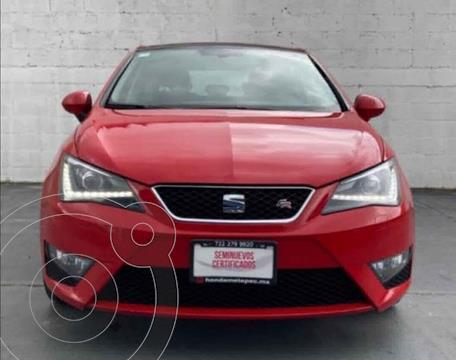 SEAT Ibiza Version usado (2017) color Rojo precio $209,900