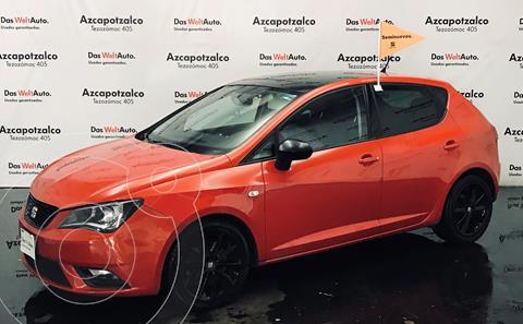 SEAT Ibiza Style 1.6L 5P usado (2016) color Rojo Chili financiado en mensualidades(enganche $38,000 mensualidades desde $5,331)