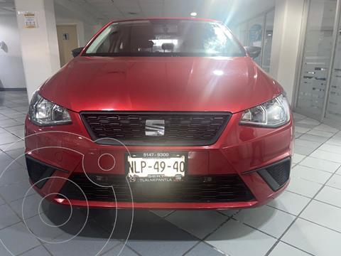 SEAT Ibiza Reference 1.6L 5P usado (2019) color Rojo Cobrizo precio $229,900