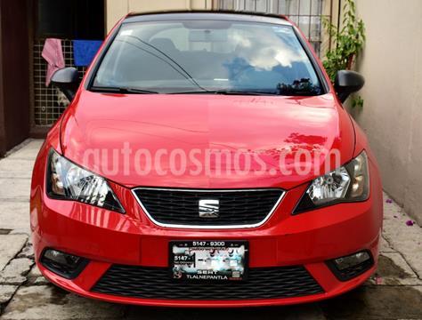 SEAT Ibiza Blitz 1.6L 5P usado (2017) color Rojo Emocion precio $165,000
