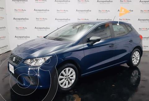 SEAT Ibiza Reference 1.6L Tiptronic 5P usado (2018) color Azul financiado en mensualidades(enganche $45,000 mensualidades desde $5,467)