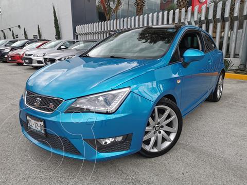 SEAT Ibiza FR 1.0L TSI Paq. de Seguridad usado (2017) color Azul Mistico precio $245,000