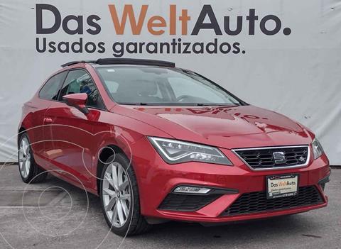 SEAT Leon FR 140 HP DSG usado (2018) color Rojo precio $355,000