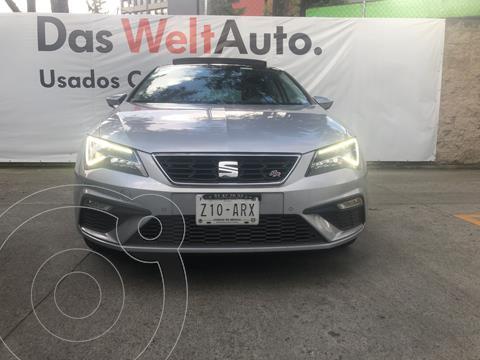 SEAT Leon FR 1.4T 150 HP DSG usado (2018) color Plata Estelar precio $345,000