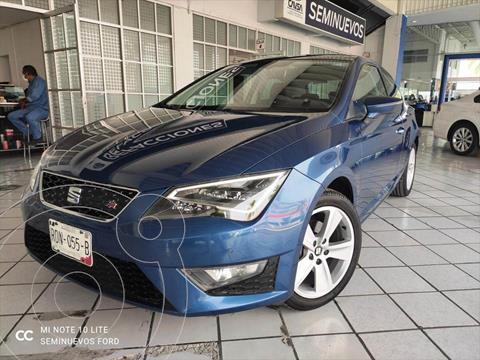 SEAT Leon FR 1.4T 140 HP DSG usado (2016) color Azul Electrico precio $285,000