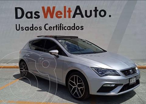 SEAT Leon FR  usado (2020) color Plata Urbano financiado en mensualidades(enganche $26,559 mensualidades desde $11,018)