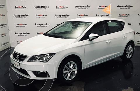 SEAT Leon Style 1.4T 125 HP usado (2019) color Blanco financiado en mensualidades(enganche $55,000 mensualidades desde $5,900)