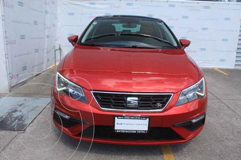 SEAT Leon FR 1.4T 150 HP DSG usado (2018) color Rojo precio $305,000