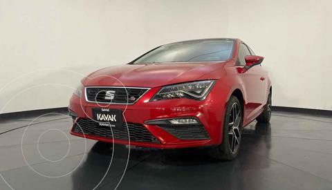 SEAT Leon FR 140 HP DSG usado (2018) color Rojo precio $344,999