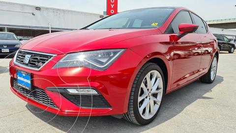 SEAT Leon FR 1.4T 150 HP DSG usado (2018) color Rojo precio $349,000