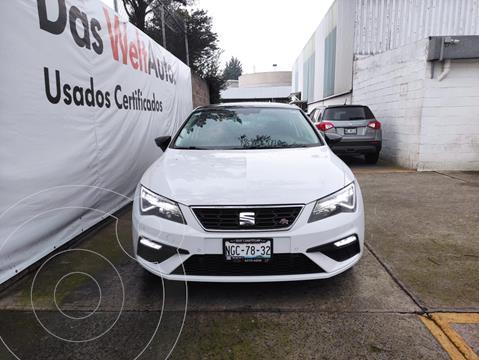 SEAT Leon FR 1.8L TSI 180HP DSG usado (2018) color Blanco precio $365,000