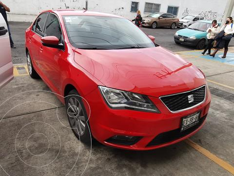 SEAT Toledo Style usado (2017) color Rojo Autentico financiado en mensualidades(enganche $40,000 mensualidades desde $4,357)