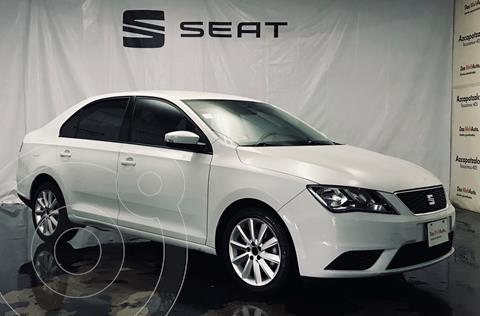 SEAT Toledo Reference usado (2019) color Blanco financiado en mensualidades(enganche $45,000 mensualidades desde $4,903)