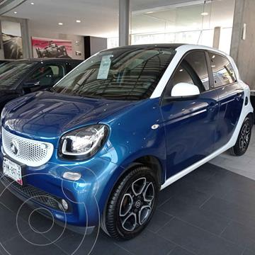 smart Forfour Prime turbo Aut. usado (2017) color Azul precio $235,000