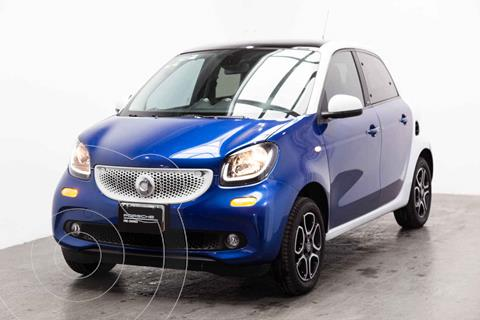 smart Forfour Prime turbo Aut. usado (2017) color Azul precio $225,000