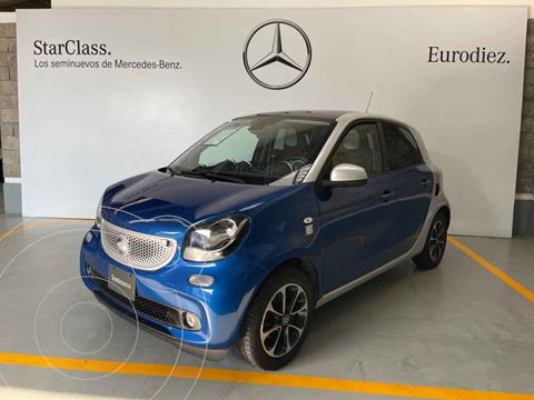 smart Forfour Passion Turbo Aut. usado (2017) color Azul precio $210,000