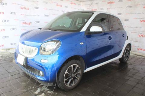 smart Forfour Passion Turbo Aut. usado (2017) color Azul precio $255,000