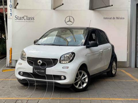 smart Forfour Passion Turbo Aut. usado (2018) color Blanco precio $255,000
