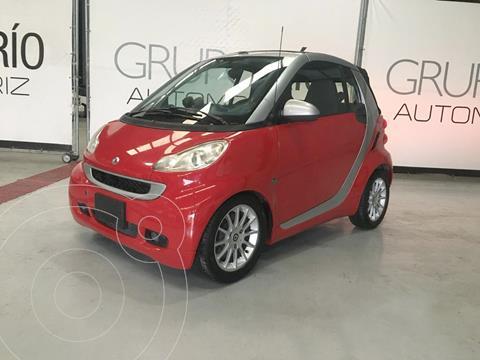 smart Fortwo Coupe Passion usado (2011) color Rojo precio $120,000