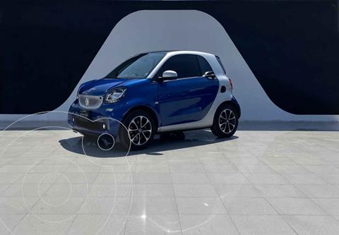 smart Fortwo Passion Turbo Aut. usado (2017) color Azul precio $279,900