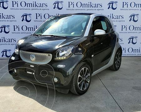 smart Fortwo Coupe Passion usado (2017) color Negro precio $255,000