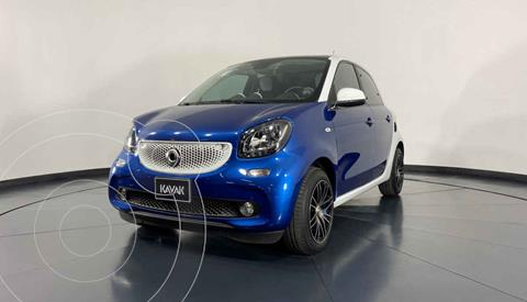 smart Fortwo Passion Turbo Aut. usado (2018) color Azul precio $274,999
