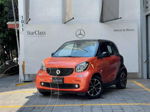 smart Fortwo Passion Turbo Aut. usado (2016) color Naranja precio $190,000