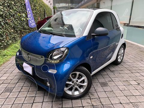 smart Fortwo Coupe Passion usado (2018) color Azul precio $285,000